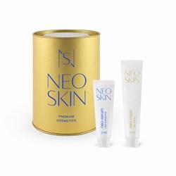 Neo-набор (neo-маска + neo-сыворотка=5наборов) для кожи вокруг глаз, лица, шеи и декольте Neo Skin - фото 6148