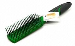 Массажная щётка Zebo зеленая - фото 7714