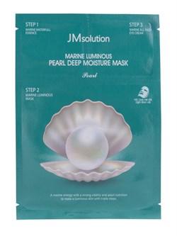 *JMsolution / Трёхшаговый комплекс для повышения эластичности кожи с протеином жемчуга, 1 шт - фото 8607