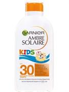 """*Garnier / Ambre Solaire Детское солнцезащитное молочко для тела """"Непобедимое"""" увлажняющее, водостойкое, SPF 30"""