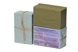 Оливковое мыло из Алеппо, натуральное 150гр. Тюльпан