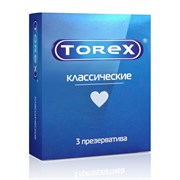"""Презервативы """"TOREX"""" Классические №3 (3шт)"""