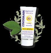 Крем с SPF 30 2в1 для нормальной кожи с защитой и уходом после солнца со светло-бежевым тоном COVERMARK RAYBLOCK  SPF30