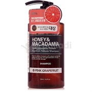 Шампунь для волос Kundal Honey & Macadamia Сочный грейпфрут 500мл