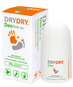 Дезодорант для всех типов кожи с Ионами Серебра и Алоэ Вера Dry Dry Deo 50ml