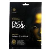 Гидрогелевая маска для лица с био золотом Fabrik cosmetology