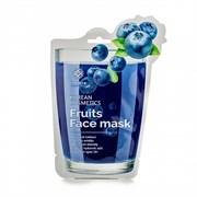 Тканевая маска с экстрактом черники Fruits Face Mask