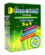 """Порошок для ПММ """"Clean&Fresh"""" 1000 г"""