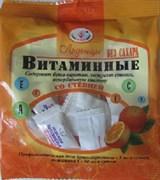 Леденцы витаминные со стевией без сахара 50гр