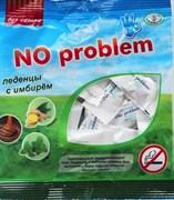 Леденцы «No problem»  без  сахара с имбирем со вкусом карамели 50гр