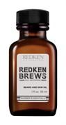 *Redken Brews Beard And Skin Oil Масло для бороды и кожи лица 30ml
