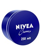 """*Nivea/ Увл универсальный крем """"Creme"""" для лица, рук и тела с пантенолом, 250 мл"""