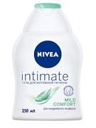 *Nivea/ Гель для интимной гигиены жидкое мыло Intimate Mild Comfort с ромашкой, 250 мл
