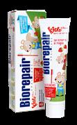 Biorepair Kids STRAWBERRY / Биорепейр детская зубная паста земляника 50 мл