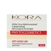 * КОРА / Крем-гель ревитализант. 5 факторов молодости кожи 50мл