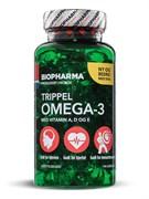 * Biopharma / Trippel Omega-3 (Тройная Омега-3) 144 капсулы