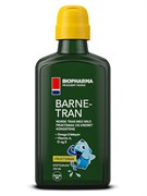 * Biopharma / Омега 3 / Рыбий жир для детей Norsk Barne Tran 250 мл