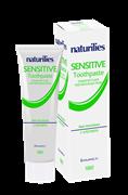 * HUNCA / Зубная паста для чувствительных зубов с алоэ вера Naturilies, 100 мл